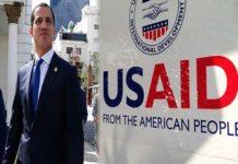 USAID admite que ha entregado 467 millones de dólares a Guaidó