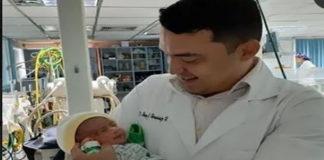 Gael Álvarez, el primer falconiano en nacer en el 2020