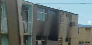 Se incendió apartamento de los bloques de Las Velitas en Coro (+Fotos)