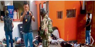 Perú: 124 personas detenidas con armas y drogas en hotel, 114 de ellos venezolanos