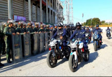 Garantizada la seguridad en la semifinal en el estadio Luis Aparicio