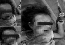Niña de 2 años fue golpeada por GNB con la culata de su fusil en el Zulia (+Video)