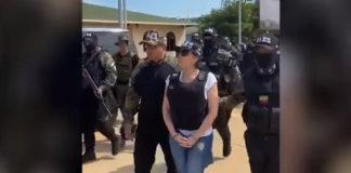 Aída Merlano es trasladada a El Helicoide (+Video)
