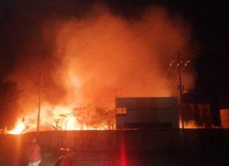 Se incendia subestación eléctrica de Caña de Azúcar en Aragua