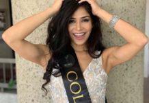 El zaperoco que armó Miss Colombia en Miss Global 2020 (+Video)