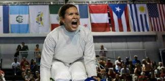 Canadá negó visa a esgrimista Alejandra Benítez