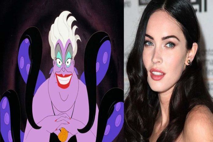 Megan Fox podría interpretar a Úrsula en live-action de La Sirenita