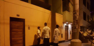 Venezolano mató a puñaladas a su pareja y se intentó suicidar en plena calle de Perú