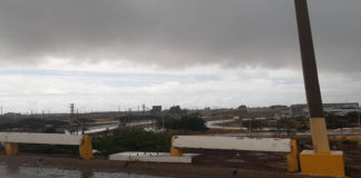 FOTOS| Así sorprendió la lluvia a Punto Fijo