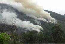 Quince días entre las llamas, continua incendio en Trujillo