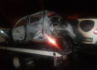 """Banda de """"El Bebé"""" perpetró nuevo ataque al sur de Valencia y una patrulla resultó quemada"""