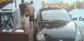 Detienen dos adolescentes armados en Zumurucuare
