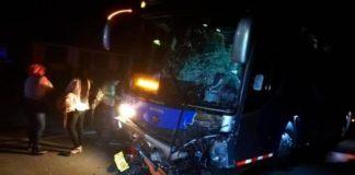 Hombre pereció en choque de vehículos al sur de Anzoátegui