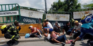 Tiroteo en el puente internacional Simón Bolívar en frontera con Táchira