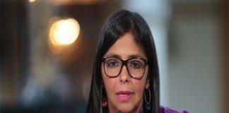 Rodríguez acusa a Guaidó de querer un medio de comunicación para los narcotraficantes