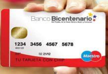 Tarjetas de Débito del Banco Bicentenario no vencen