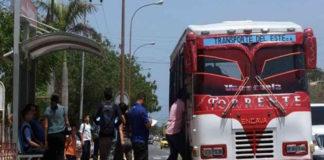 Falta de efectivo dificulta el pago del transporte en Carirubana