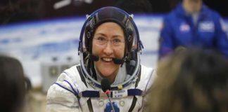 La astronauta Christina Koch regresa a la Tierra