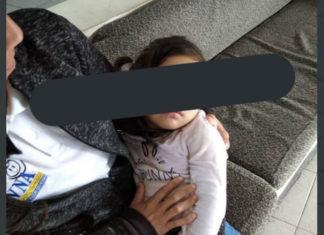 Abandonan a niña de 3 años en La Urbina