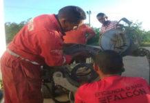 Trabajo provisional con Sistema Bypass que suministrará agua al municipio Falcón