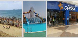 Playa, piscina y cine, los sitios preferidos de los paraguaneros para carnaval 2020