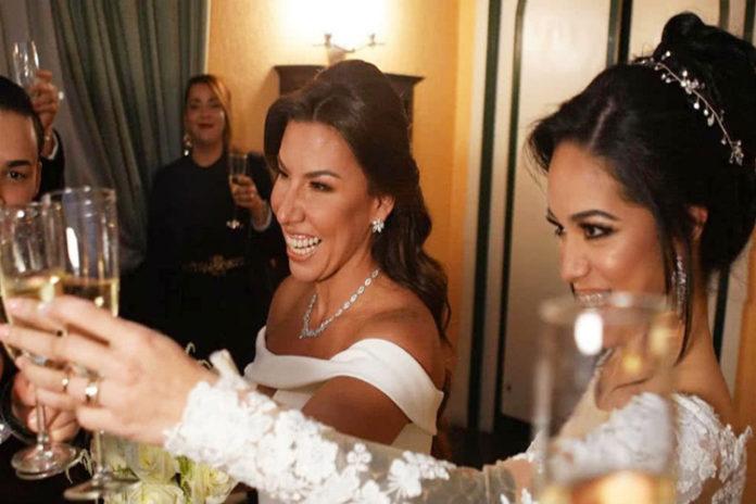 Vanessa Senior se casó con Nany Luna