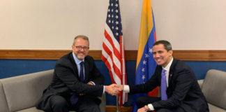 Guaidó se reunió con James Story