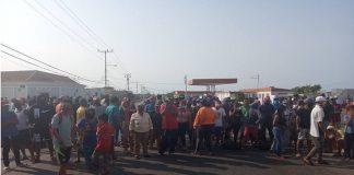 Fotos| ¡Queremos gasolina!, claman pescadores de Punta Cardón