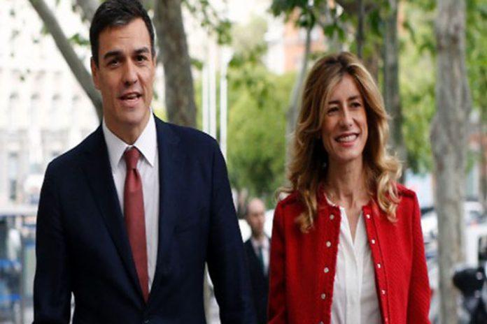 Esposa del presidente de España dio positivo por coronavirus