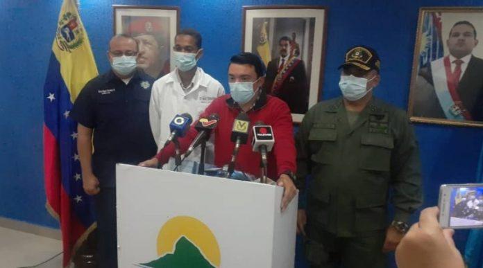 Cinco casos fueron abordados pero ninguno salió positivo, aseguró el secretario de gobierno del estado Falcón,