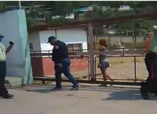 Se hizo público vídeo de altercado entre la policía y habitantes del relleno en Trujillo