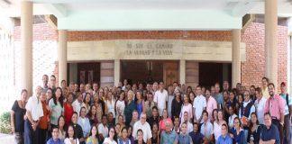 """Bajo el lema """"Que arda nuestro corazón en comunión"""", un total de 122 representantes de la Arquidiócesis de Coro,"""