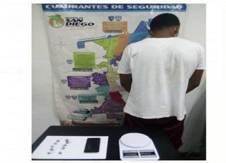 Carabobo: huía de la policía porque vendía droga en San Diego pero lo capturaron