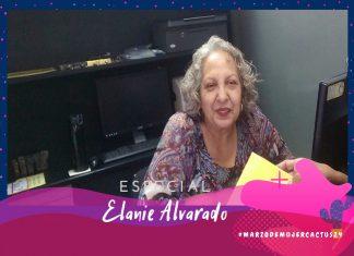 Elanie Alvarado: Nunca me imaginé que a mi edad me iban a llamar para trabajar