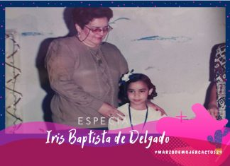 Iris Baptista de Delgado moldó mentes y reforzó corazones con buenas enseñanzas