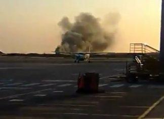 Dos personas con quemaduras parciales tras accidente de avioneta en Porlamar