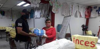 Inces en Falcón: 4.232 tapabocas para darle la guerra al coronavirus