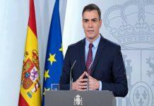 Sánchez pide al Congreso prorrogar el estado de alarma hasta el 26-Abr