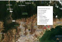 Tembló Valencia 3,1 de magnitud a escala Richter