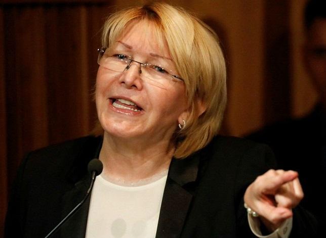Luisa Ortega Díaz: «Es un burdo montaje en mi contra supuesta investigación por extorsión»