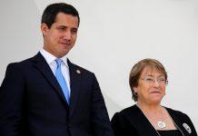 Equipo de Guaidó denunció ante Bachelet persecución por parte de Maduro