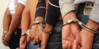 ¡Por fiesteros! detienen a ocho personas en Aragua