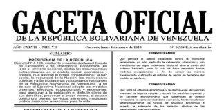 No es cuarentena: Extienden Estado de Excepción y de Emergencia Económica por 60 días (+Gaceta)