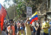 Vecinos de La urbina y Mariche tomaron las calles para protestar por agua