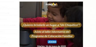 "Punto Fijo: Fundana dictará taller de ""Colocación Familiar"" por Zoom"