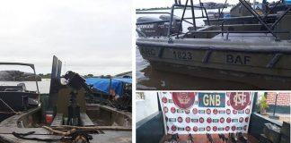 FANB incauta 3 lanchas de combate con emblemas de Armada colombiana