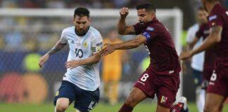 La Vinotinto cayó ante Argentina